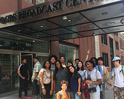 Outside CBS Studio